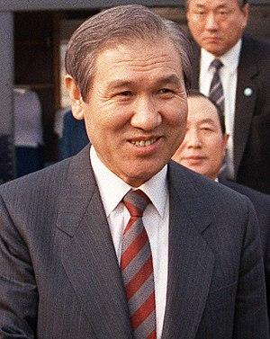 韓国第13代大統領노태우