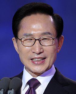韓国第17代大統領이명박
