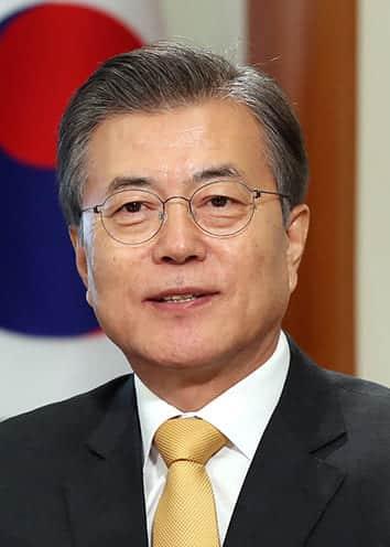 韓国第19代大統領문재인