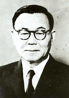韓国第4代大統領윤보선