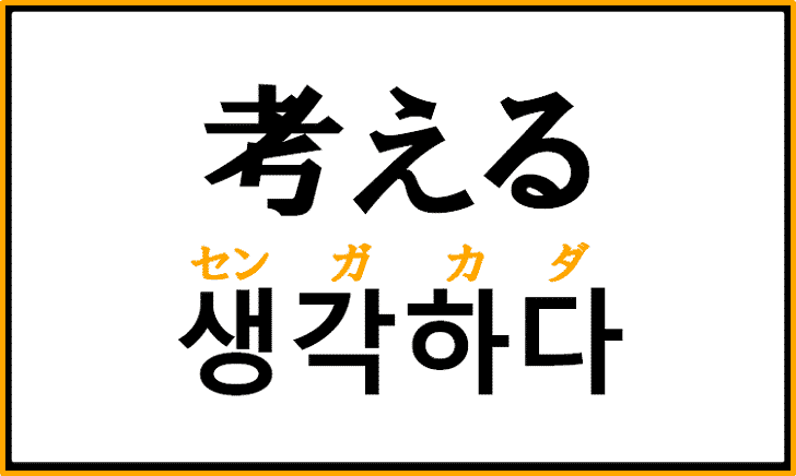 「考える」を韓国語で何というか正しく解説!【생각하다】を覚えよう!