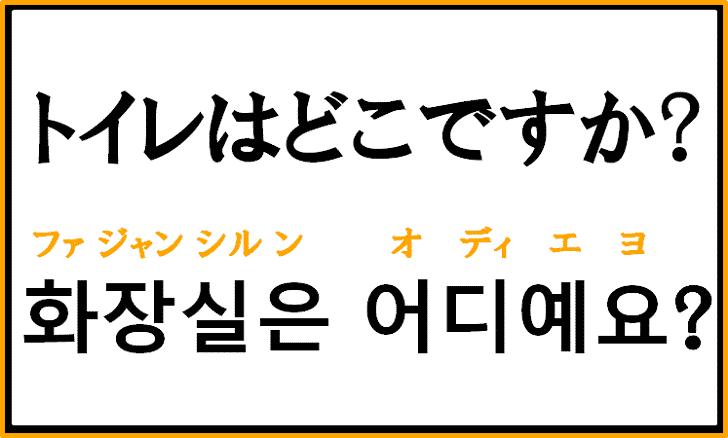 「トイレはどこですか?」を韓国語で何という?質問で使えるフレーズを解説